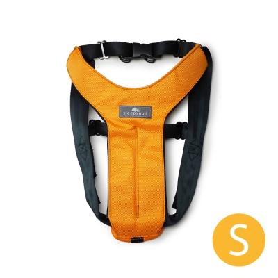 Sleepypod 寵物旅者安全胸背帶-橘S