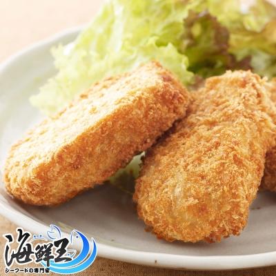 【海鮮王】真材食料花枝排 *8包組(198g/包)