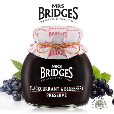 MRS. BRIDGES 英橋夫人黑加侖藍莓果醬(大) 340 g