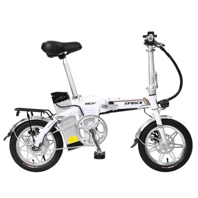 【SPRICK】EF-1 14吋 鋁合金 48V鋰電 折疊式手提 輔助電動車 白