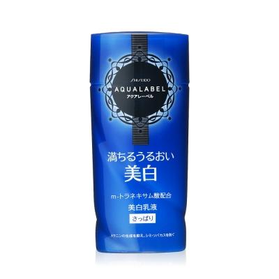 AQUALABEL晶透白柔膚乳液(清爽型) 130mL