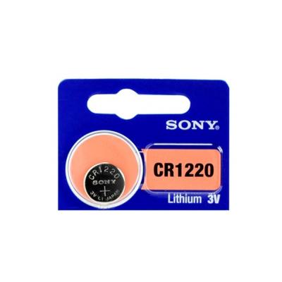 日本製 SONY 高品質鈕扣型電池 CR1220 ( 5顆入)