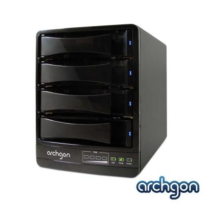 archgon USB3.0 / eSATA 4Bay抽取式硬碟外接盒MH-3643JSC