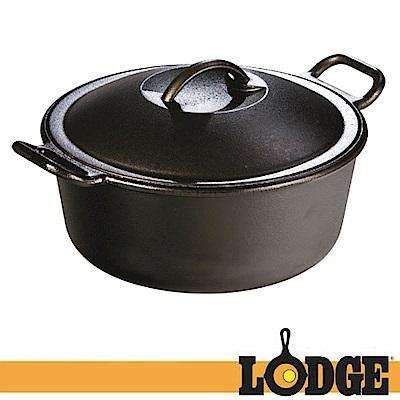 【Lodge】Dutch Oven 美國製 10吋鑄鐵鍋.荷蘭鍋.湯鍋/免開鍋