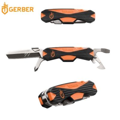 Gerber貝爾求生系列多功能野營開瓶器/螺絲刀/折疊刀31-002784