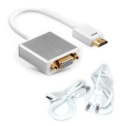 便利社 HDMI轉VGA 鋁合金接頭