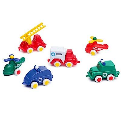 瑞典Viking Toys維京玩具-交通工具5入組(款式隨機)