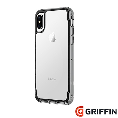 Griffin Survivor Clear iPhone X 軍規防摔殼