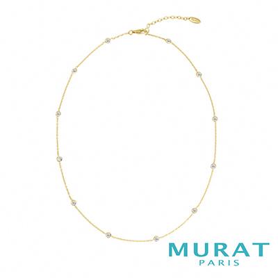 MURAT PARIS米哈巴黎 點點閃耀細緻項鍊(金色款)