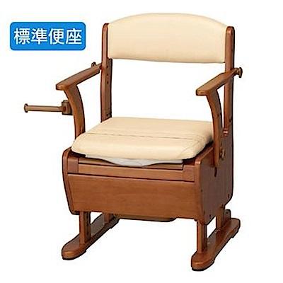 (樂齡網)安壽533-370家具風坐便椅-樂之介WL