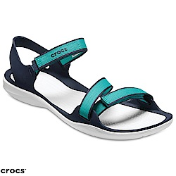 Crocs 卡駱馳 (女鞋) 女士激浪織帶涼鞋 204804-3N9
