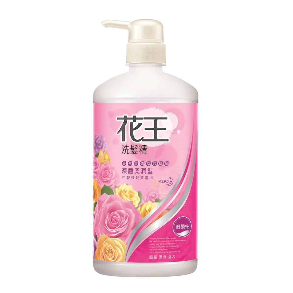 花王 KAO  洗髮精深層柔潤型 (750ml/瓶)