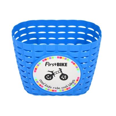 【FirstBike】 兒童滑步車/學步車 原廠車前小籃子(藍)