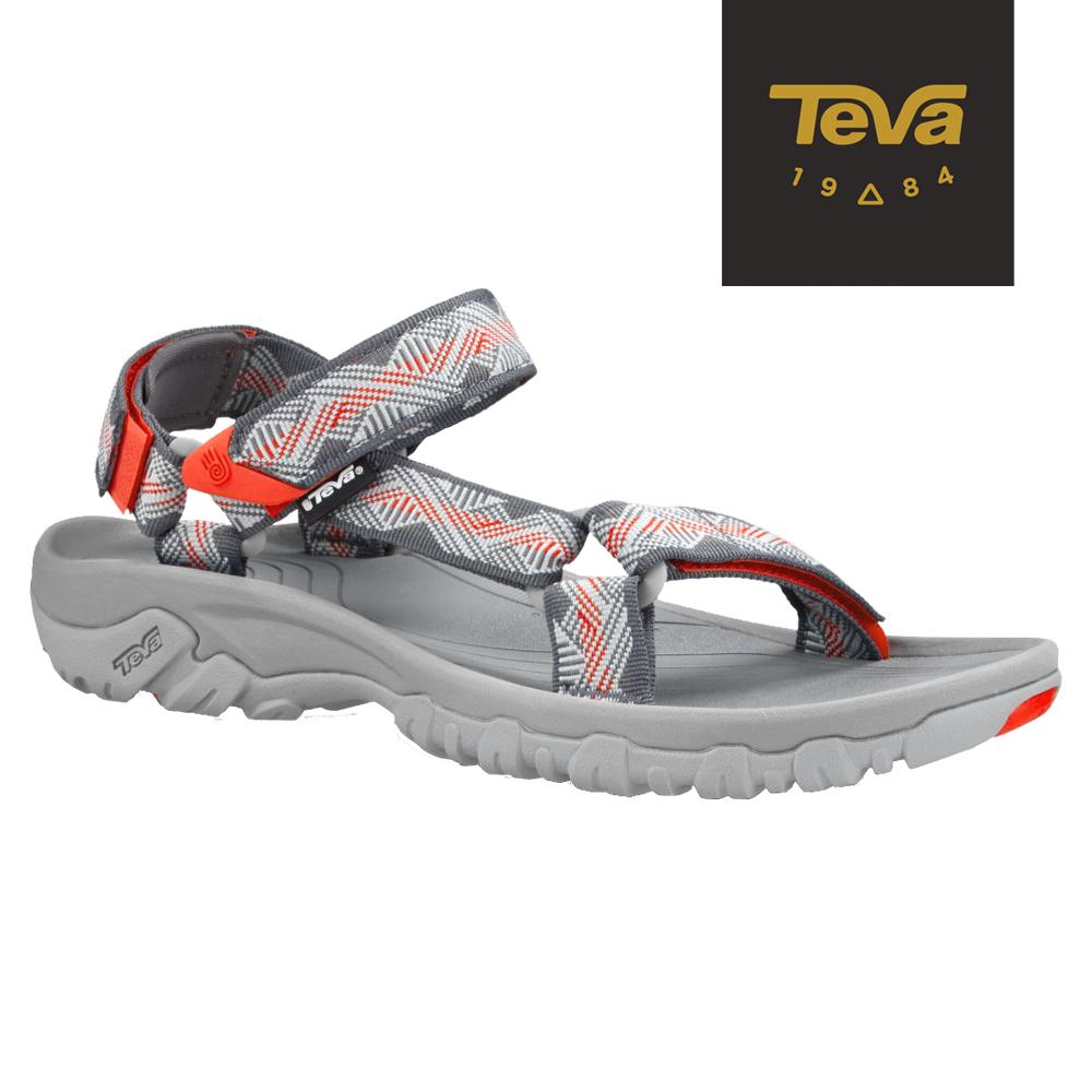 TEVA 美國-男 Hurricane XLT 機能運動涼鞋 (灰/桔)