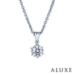 A-LUXE 亞立詩 Sweet Mood 20分奢華鑽石項鍊
