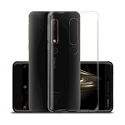 Xmart for Nokia 6 (2018)  超薄清柔水晶保護套