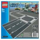 LEGO樂高 城市系列 7280 直線道&十字路口(底板一包兩片) (5Y+)