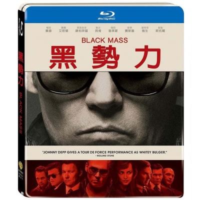黑勢力 單碟鐵盒版  Black Mass 藍光 BD