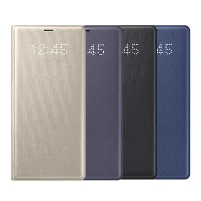 Samsung Galaxy Note 8 原廠LED皮革翻頁式皮套
