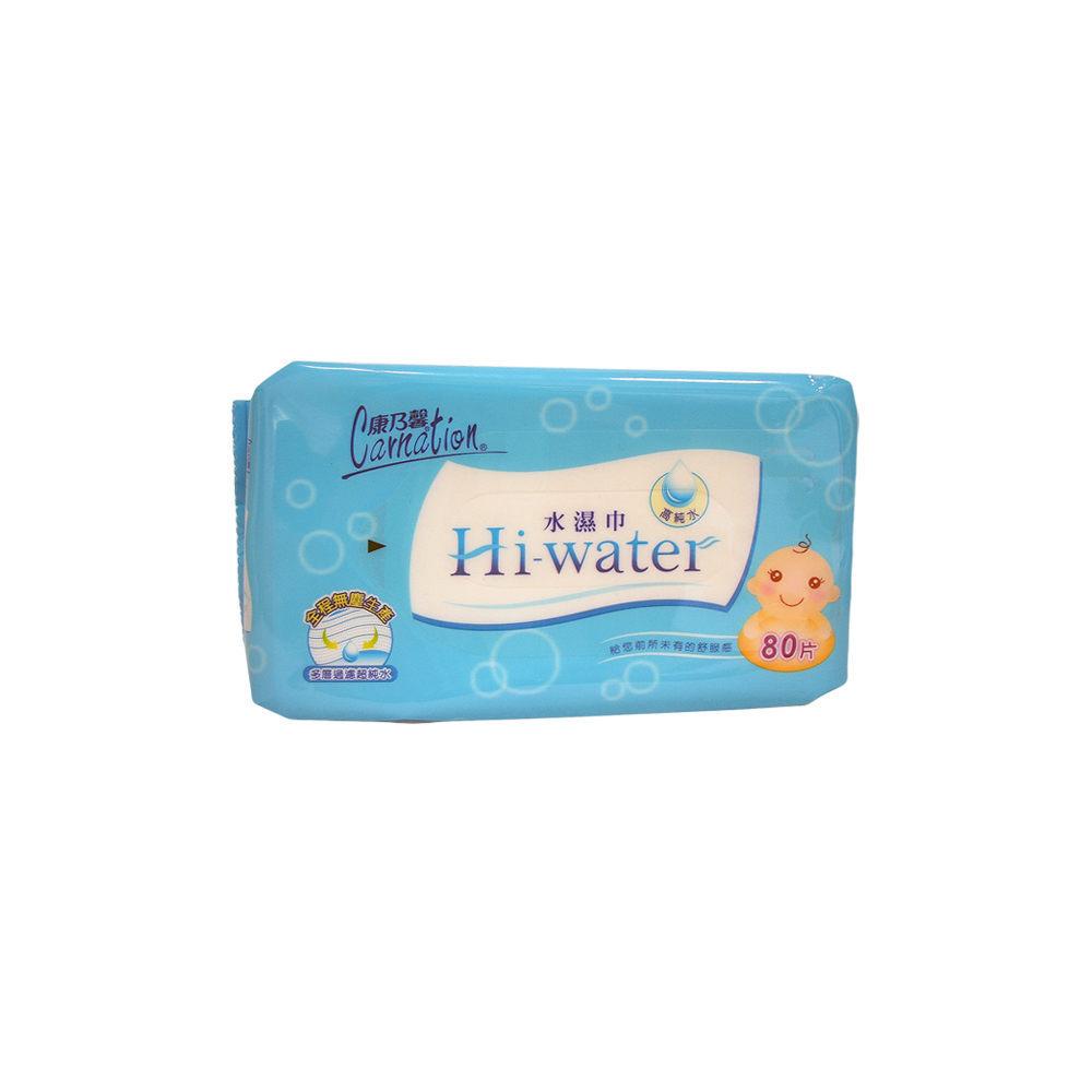 康乃馨Hi-water 水濕巾 (80片X12包) /箱