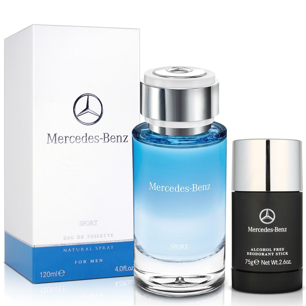 Mercedes Benz  sport  賓士運動款男性淡香水(120m)-送三好禮