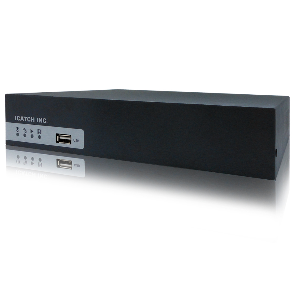 【CHICHIAU】4路 H.264 960H 高畫質網路型遠端數位監控錄影機-DVR