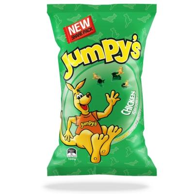 Jumpys  3 D袋鼠歡樂洋芋片-雞汁( 100 g)