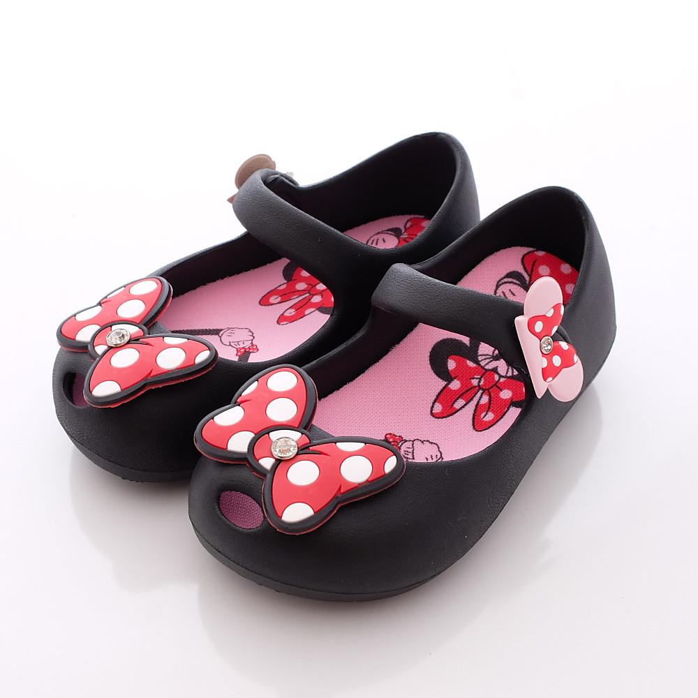 迪士尼童鞋-米妮超輕娃娃款-FO64415黑(中小童段)HN