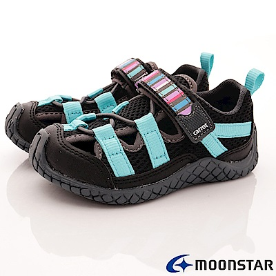 日本Carrot機能童鞋 水陸速乾鞋款 TW1796黑(中小童段)