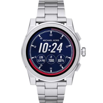 MICHAEL KORS Smartwatch智慧型觸控連線手錶-銀/47mm