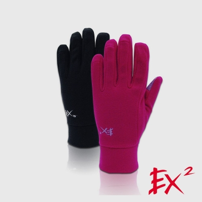 德國EX2 《i-finger 手套 冬季保暖手套》 (紫紅)