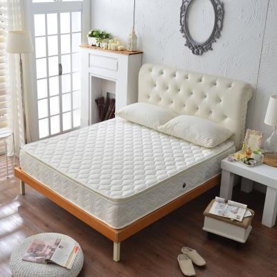 Ally愛麗正三線乳膠3M防潑水蜂巢式獨立筒床 雙人加大6尺
