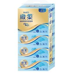 PASEO緻柔盒裝面紙140抽x5盒/串