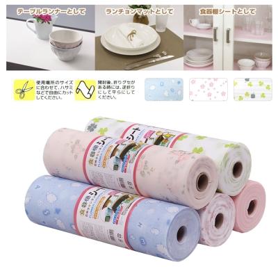 日本 多用途PET印花防潮墊(可裁剪300cm)(顏色隨機)-快