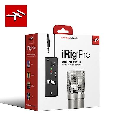 IK Multimedia iRig Pre 行動錄音麥克風介面