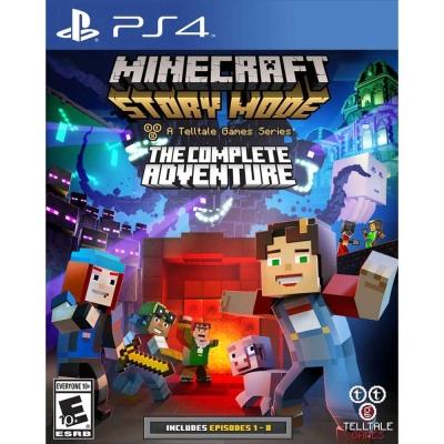 我的世界:劇情模式 完整冒險 Minecraft Story Mode-PS4中英文美版
