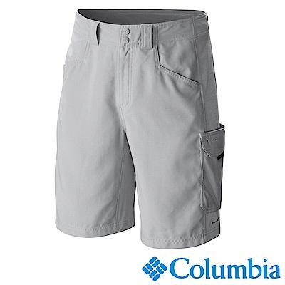 Columbia 哥倫比亞 男款-PFG防曬50防潑短褲-灰 UFM40130GY