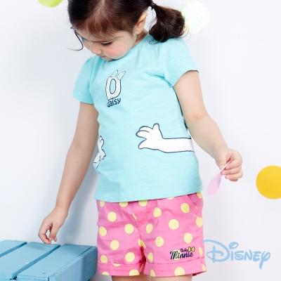 Disney 復古大圓點米妮短褲 蜜粉