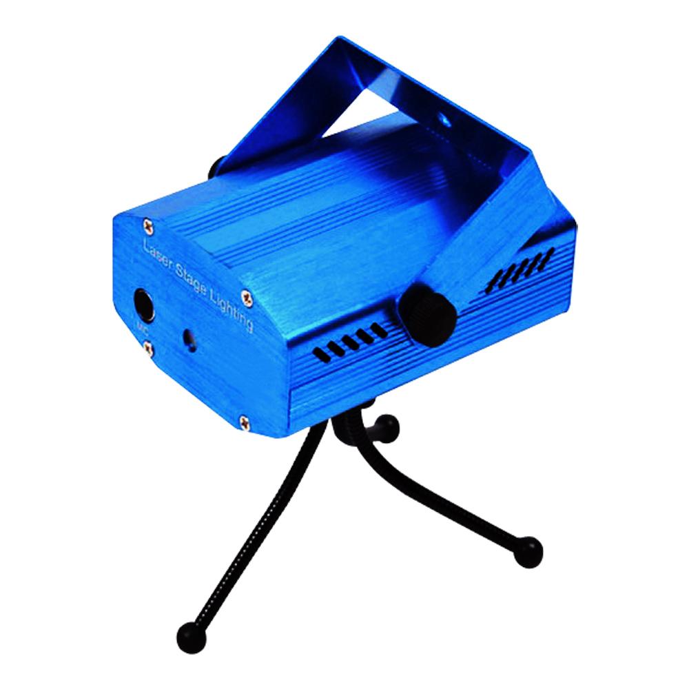★迷你可攜式聲控激光雷射紅綠光滿天星舞台燈