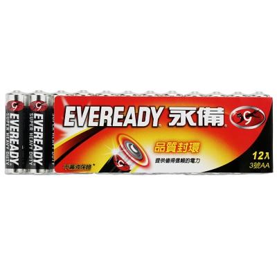 永備 碳鋅電池  3 號(AA) 12 入