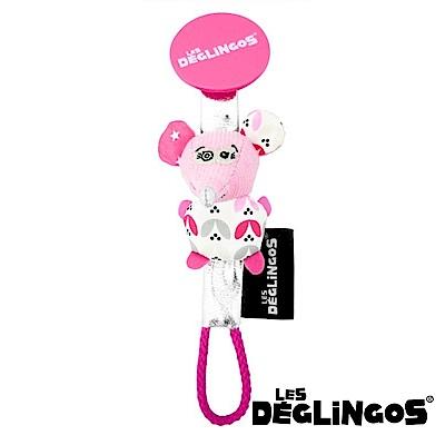 Les Deglingos 立體玩偶奶嘴夾-老鼠 (COQUELiCos)