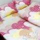 BUTTERFLY-夢幻甜心-40支紗精梳棉雙人枕套床包三件組