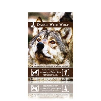 澳洲Dance With Wolf 荒野饗宴之與狼共舞《草原羊肉莓果》犬糧14.5磅