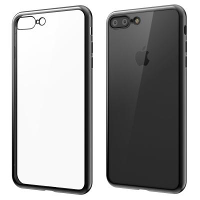 SwitchEasy Flash iPhone 7+ 金屬質感邊框軟質保護套