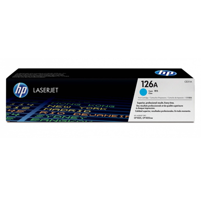HP-CE311A-原廠青藍色碳粉匣