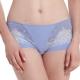 LADY 涼感纖體美型系列 蕾絲中腰平口內褲 (微風藍) product thumbnail 1