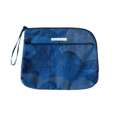 NAOMI ITO POCHO波點尿布收納袋(藍)