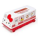 Sanrio HELLO KITTY可愛火車造型抽取式塑膠面紙盒(好朋友)