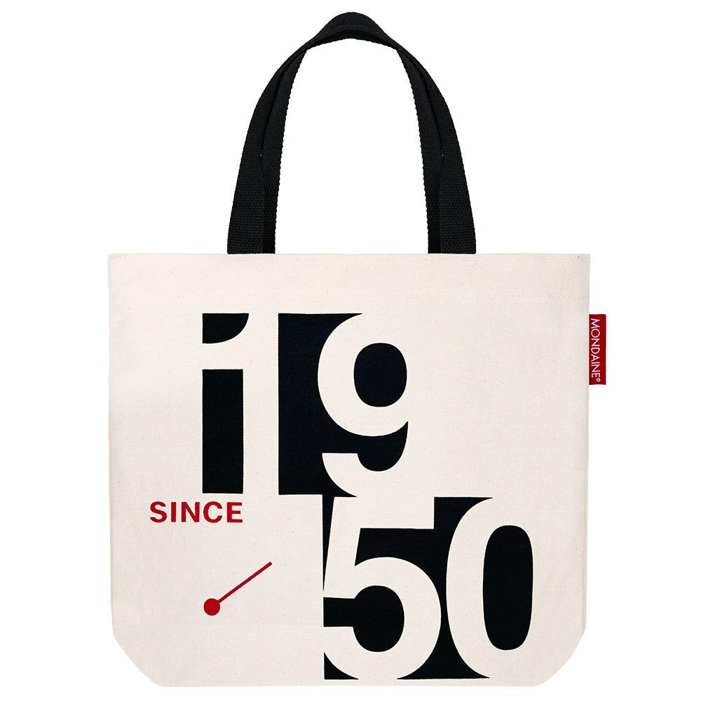 MONDAINE 瑞士國鐵限量1950 帆布手提袋
