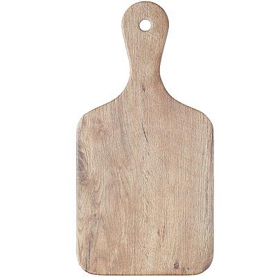 KitchenCraft 迷你槳型輕食盤(木紋)
